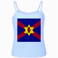 Flag of the Ulster Nation Baby Blue Spaghetti Tank