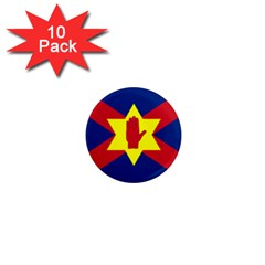 Flag of the Ulster Nation 1  Mini Magnet (10 pack)