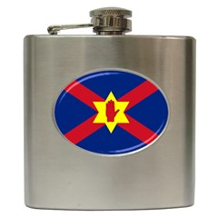 Flag of the Ulster Nation Hip Flask (6 oz)
