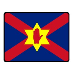 Flag of the Ulster Nation Fleece Blanket (Small)