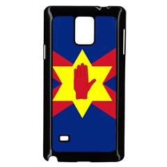 Flag of the Ulster Nation Samsung Galaxy Note 4 Case (Black)