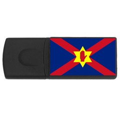 Flag of the Ulster Nation USB Flash Drive Rectangular (1 GB)