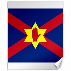 Flag of the Ulster Nation Canvas 11  x 14