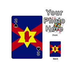Flag of the Ulster Nation Playing Cards 54 (Mini)