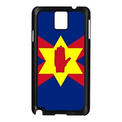 Flag of the Ulster Nation Samsung Galaxy Note 3 N9005 Case (Black)