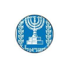 Emblem of Israel Hat Clip Ball Marker (4 pack)