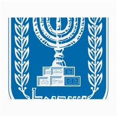 Emblem of Israel Small Glasses Cloth (2-Side)