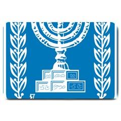 Emblem of Israel Large Doormat
