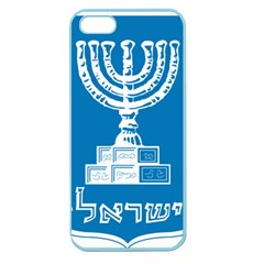 Emblem of Israel Apple Seamless iPhone 5 Case (Color)