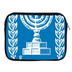 Emblem of Israel Apple iPad 2/3/4 Zipper Cases
