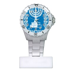 Emblem of Israel Plastic Nurses Watch