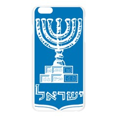 Emblem of Israel Apple Seamless iPhone 6 Plus/6S Plus Case (Transparent)