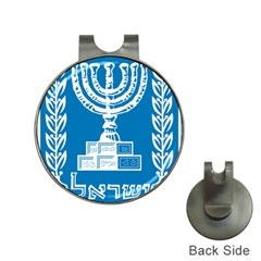 Emblem Of Israel Hat Clips With Golf Markers