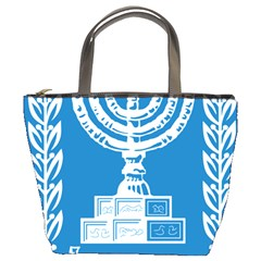 Emblem of Israel Bucket Bags