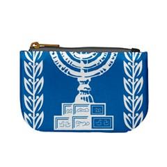 Emblem of Israel Mini Coin Purses