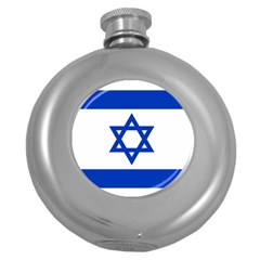 Flag of Israel Round Hip Flask (5 oz)