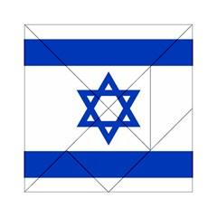 Flag of Israel Acrylic Tangram Puzzle (6  x 6 )