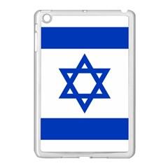 Flag of Israel Apple iPad Mini Case (White)