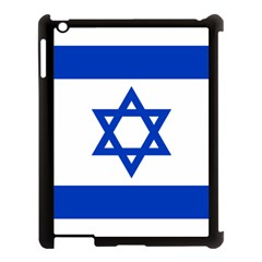 Flag of Israel Apple iPad 3/4 Case (Black)