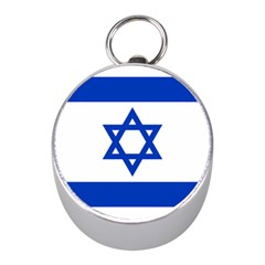 Flag of Israel Mini Silver Compasses