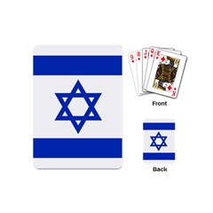 Flag of Israel Playing Cards (Mini)