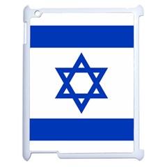 Flag of Israel Apple iPad 2 Case (White)