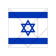 Flag of Israel Acrylic Tangram Puzzle (4  x 4 )