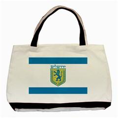 Flag of Jerusalem Basic Tote Bag