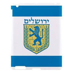 Flag of Jerusalem Apple iPad 3/4 Hardshell Case