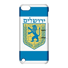 Flag of Jerusalem Apple iPod Touch 5 Hardshell Case with Stand