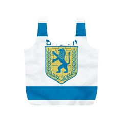 Flag of Jerusalem Full Print Recycle Bags (S)