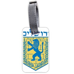 Coat of Arms of Jerusalem Luggage Tags (One Side)