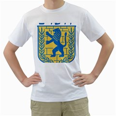 Coat of Arms of Jerusalem Men s T-Shirt (White)