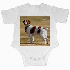 Brittany Spaniel Full Infant Creepers