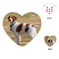 Brittany Spaniel Full Playing Cards (Heart)