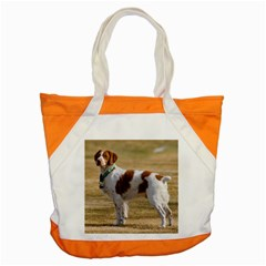 Brittany Spaniel Full Accent Tote Bag