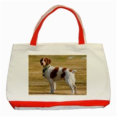 Brittany Spaniel Full Classic Tote Bag (Red)