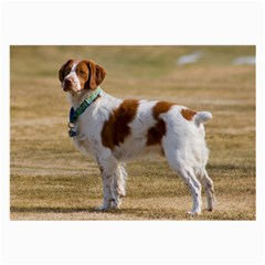 Brittany Spaniel Full Large Glasses Cloth (2-Side)