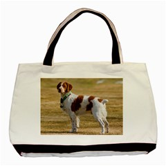 Brittany Spaniel Full Basic Tote Bag (Two Sides)