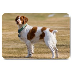 Brittany Spaniel Full Large Doormat