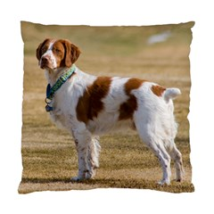 Brittany Spaniel Full Standard Cushion Case (Two Sides)