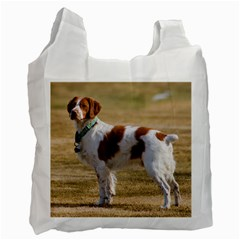Brittany Spaniel Full Recycle Bag (One Side)