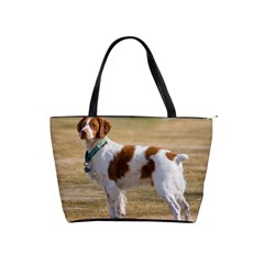 Brittany Spaniel Full Shoulder Handbags