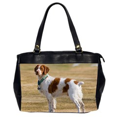 Brittany Spaniel Full Office Handbags (2 Sides)