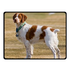 Brittany Spaniel Full Fleece Blanket (Small)