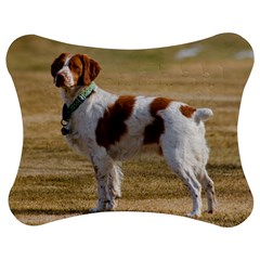 Brittany Spaniel Full Jigsaw Puzzle Photo Stand (Bow)