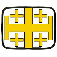 Jerusalem Cross Netbook Case (XL)