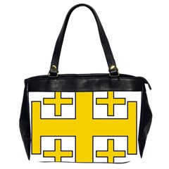 Jerusalem Cross Office Handbags (2 Sides)