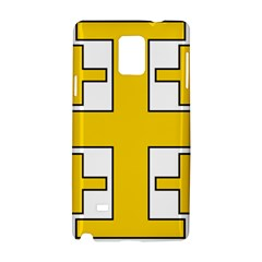 Jerusalem Cross Samsung Galaxy Note 4 Hardshell Case