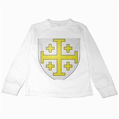 The Arms Of The Kingdom Of Jerusalem  Kids Long Sleeve T Shirts